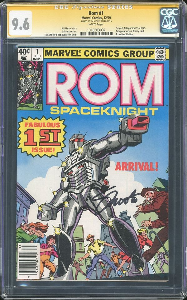 ROM (1979) Issue 01 (US, CCG, Signed)