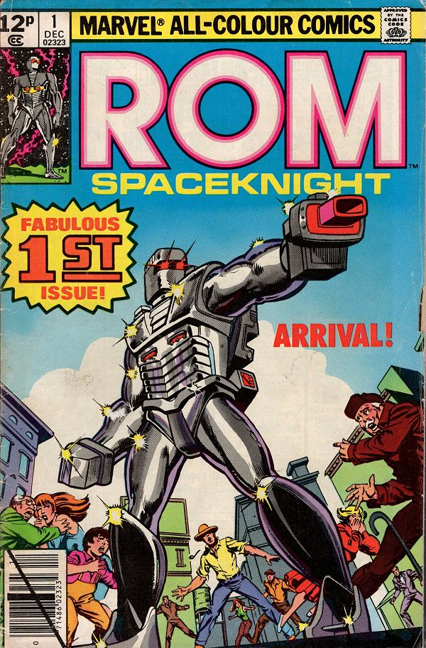 ROM (1979) Issue 01 (UK)