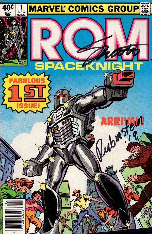 ROM (1979) 01 (US, Signed)