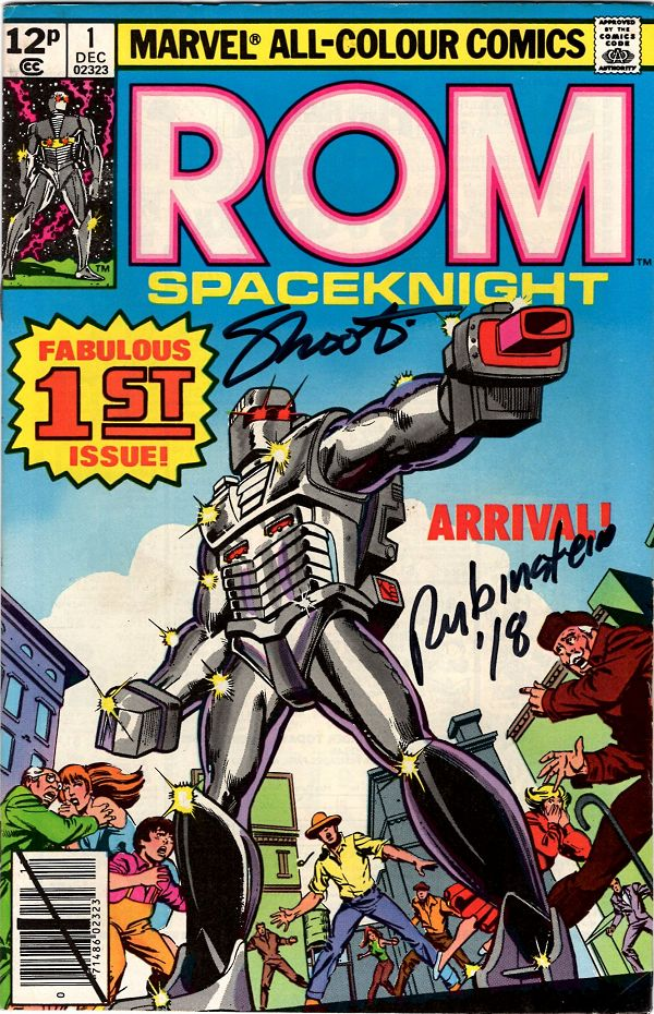 ROM (1979) Issue 01 (UK, Signed)